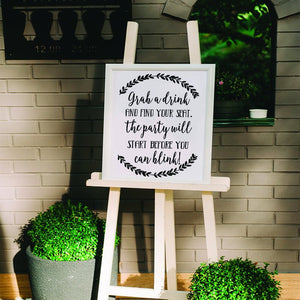Wedding Signs - Decal - Wedding - Wedding Decor - Rustic Wedding Decor - Rustic Wedding - Wedding Sign - Wedding Signage - DIY Wedding