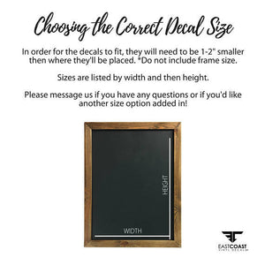Choose a Seat Not a Side Wedding Decal Sign