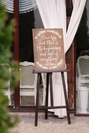 DIY Wedding Reception Sign - Chalkboard Decal - Wedding Signs - Receptions Signs - Wedding Signage - DIY Wedding Decor - Rustic Wedding Sign