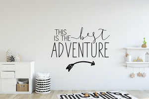 wall decals  wall decal quote  wall decal  vinyl wall decal  nursery wall decal  nursery decor  greatest adventure  Gift Idea  Christmas  Baby Shower  adventure nursery  adventure decal  adventure awaits