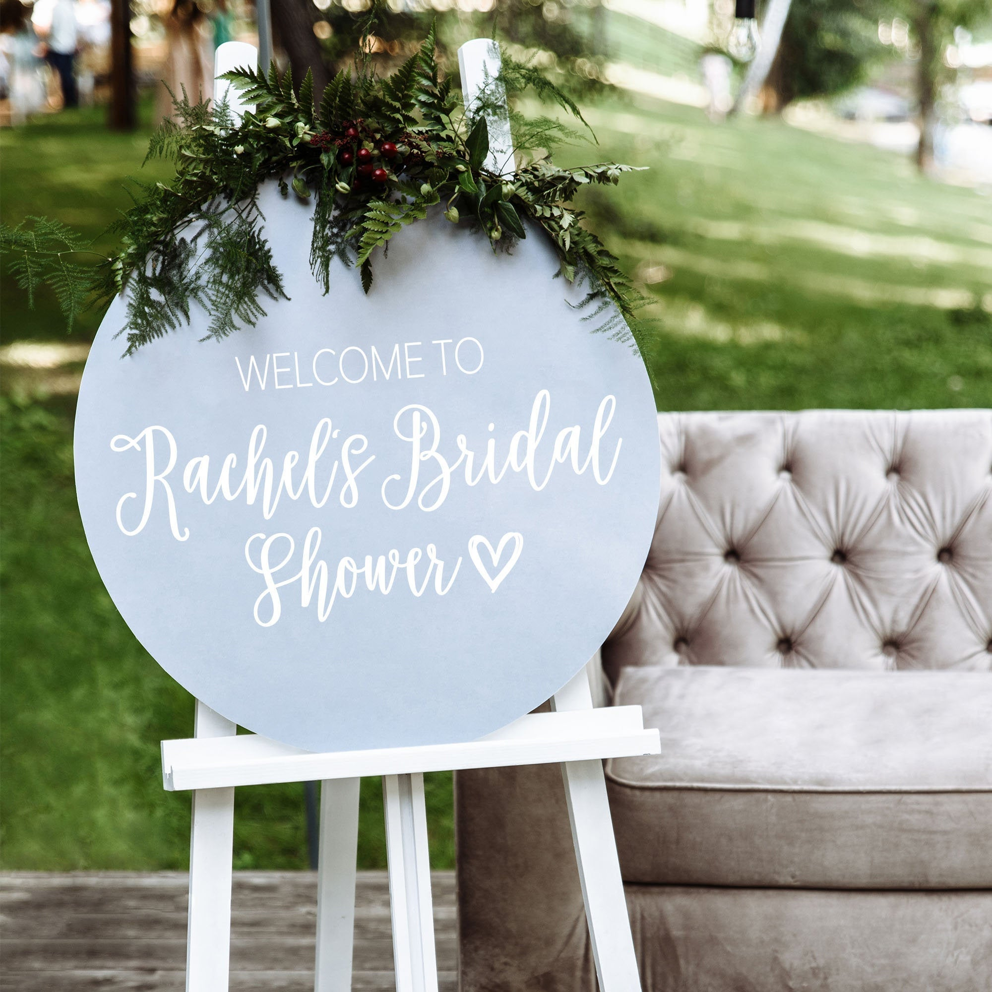 Bridal Shower Welcome Sign | DIY Decal