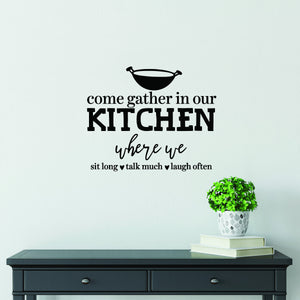 Kitchen Decor | Gift for Mom | Wall Decal