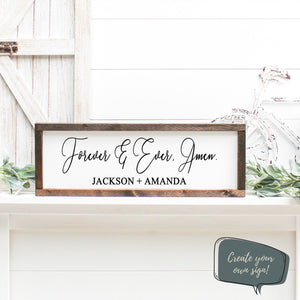 Personalized Home Decor | Wall Decal | Wedding Decal | Valentines Day | Unique Couples Gift