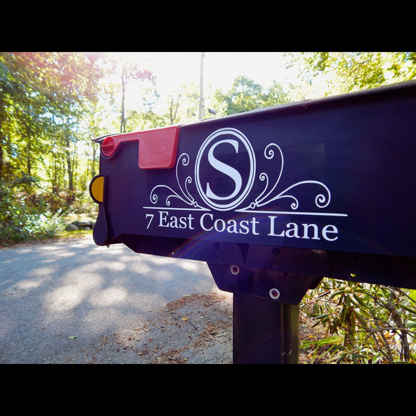 Custom Mailbox Decal