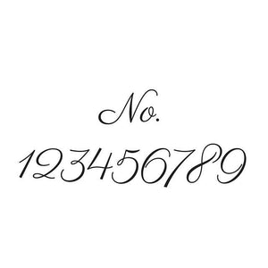 Vinyl Decal Sticker of your House Number