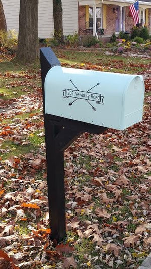 Custom Mailbox Vinyl - Custom Mailbox Decals - Custom Decals for Mailbox - Custom Vinyl Mailbox Lettering - Mailbox Stickers - Arrow Decals