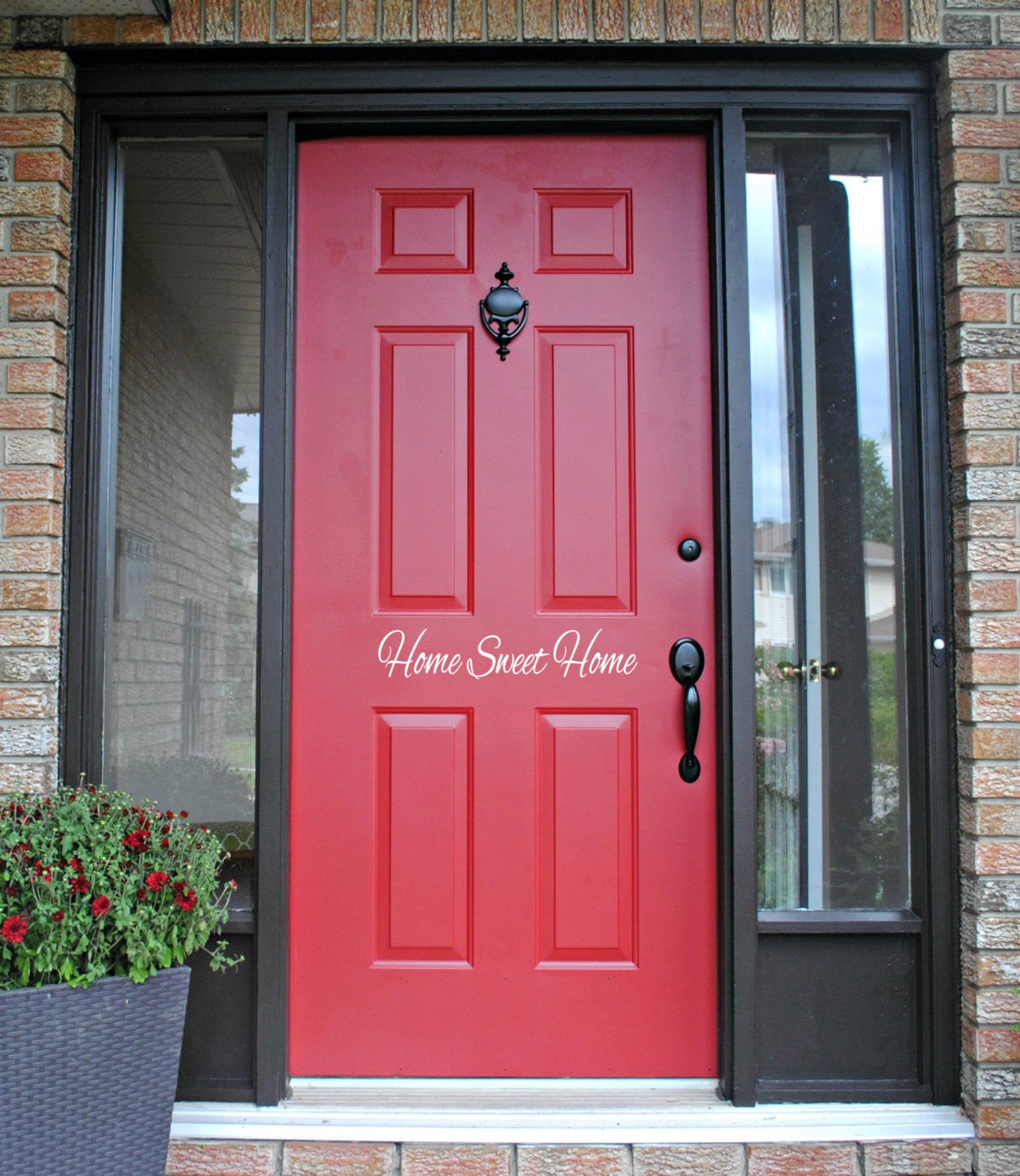 Home Sweet Home Door Decal - East Coast Vinyl Decals, Inc.