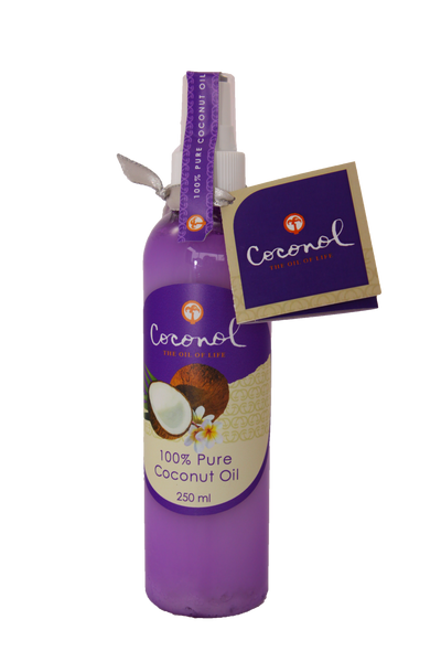 Pure Coconut Oil 250ml Spray Top