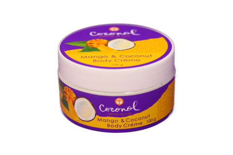 Mango & Coconut Body Creme 100g
