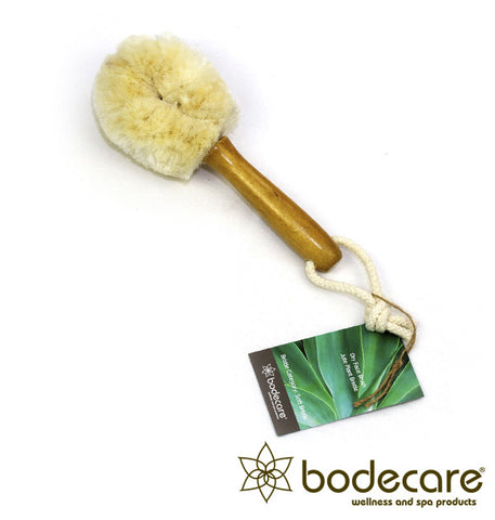 Jute Plant Bristle Dry Face Brush