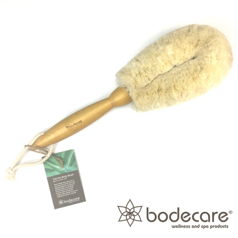 Jute Dry Body Brush - soft bristle