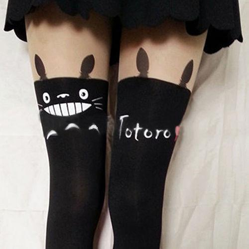 c3f3ed351cc Totoro Knee High Socks   50% OFF