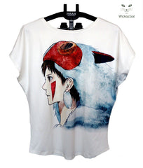 Anime Movies - Princess Mononoke Women's Tshirt