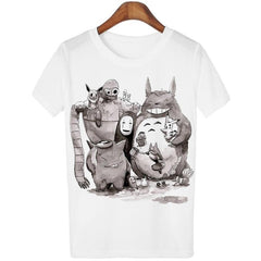 Anime Movies - The Perfect Anime Movies Tee: Totoro + Pokemon + Spirited Away