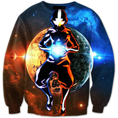 Avatar The Last Airbender - Avatar Aang 3D Sweater V1