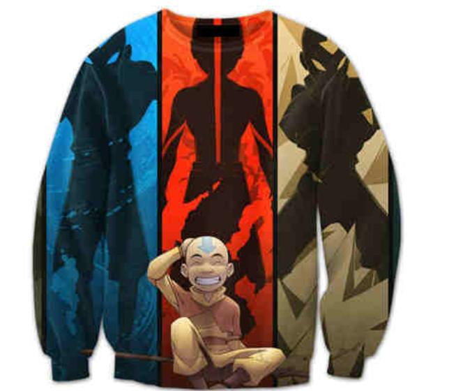 Avatar The Last Airbender - Avatar Aang 3D Sweater V2