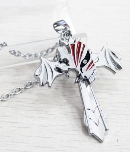 Bleach Products - Bleach Hollow Mark Cross Pendant Necklace