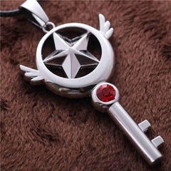Card Capture Sakura - Card Captor Sakura Magic Wand Pendants Necklace
