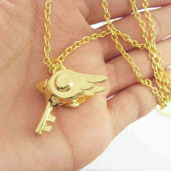 Card Capture Sakura - Card Captor Sealing Wand Key Necklace