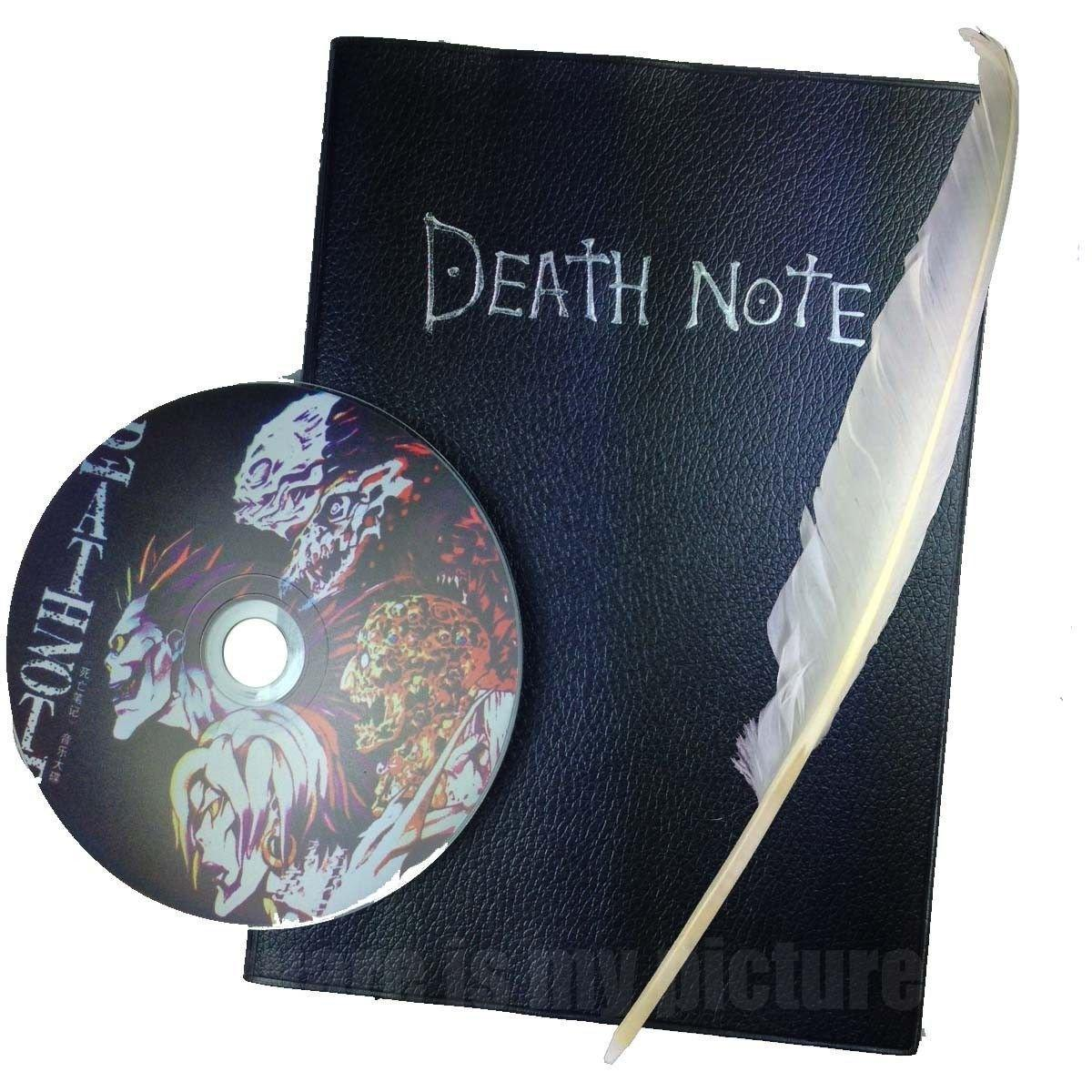 Death Note - Death Note - Notebook + CD + Feather Pen
