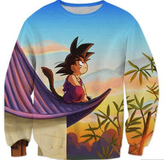 Dragon Ball - Dragon Ball Sweatshirt - Kid Goku