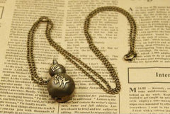 Naruto - Naruto - Gaara Gourd Chain Necklace (Watch Inside)**50% OFF**