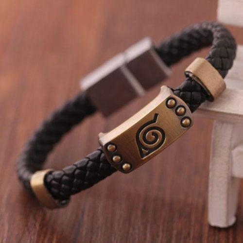 Naruto - Naruto Leaf Bracelet - Limited Edition ★ FREE ★