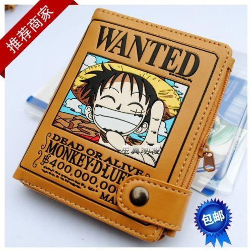 One Piece - Exclusive: One Piece Monkey D Luffy Wanted Wallet