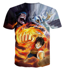 One Piece - One Piece Fire 3D Shirt