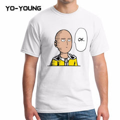 One Punch Man - Funny One Punch Man Cotton Casual Tee