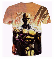 One Punch Man 3D T-Shirt - New Edition - TrendyHolic Anime
