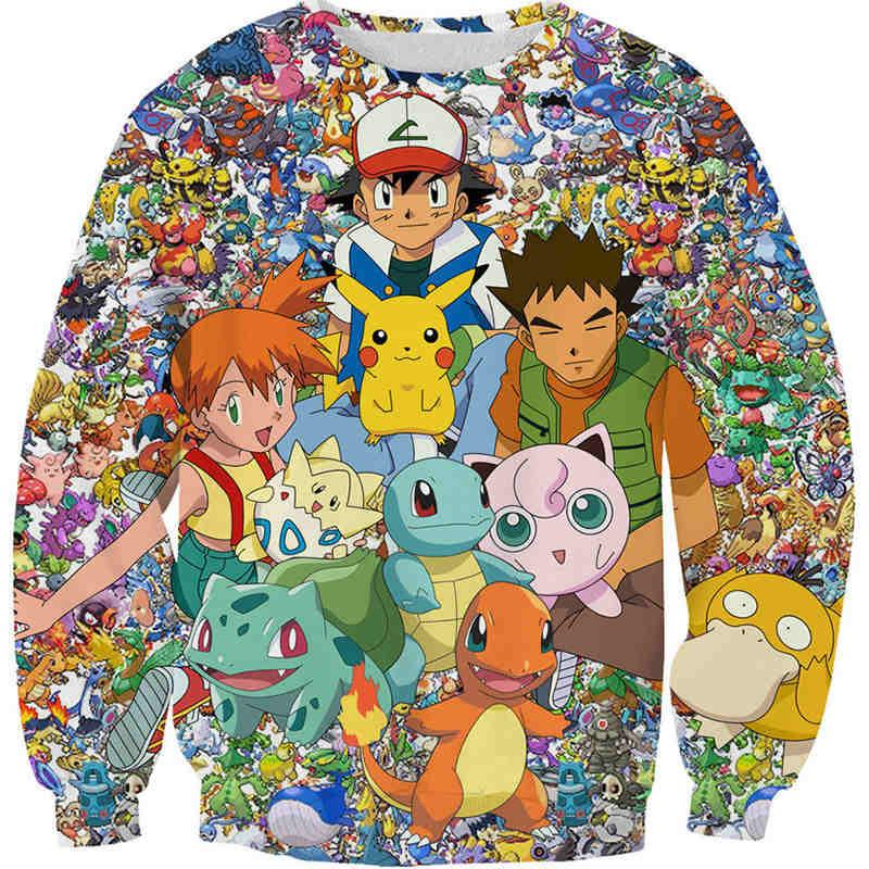 POKEMON - New Exclusive: The Ultimate Pokemon Sweatshirt
