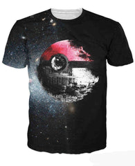 POKEMON - Pokeball Deathstar T-Shirt