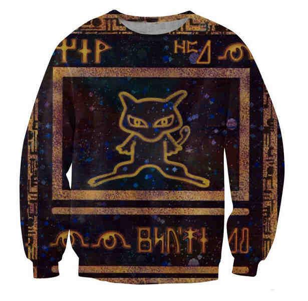 Pokemon Ancient Mew Sweatshirt - TrendyHolic Anime