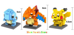 Pokemon Figures Model Building Blocks - TrendyHolic Anime