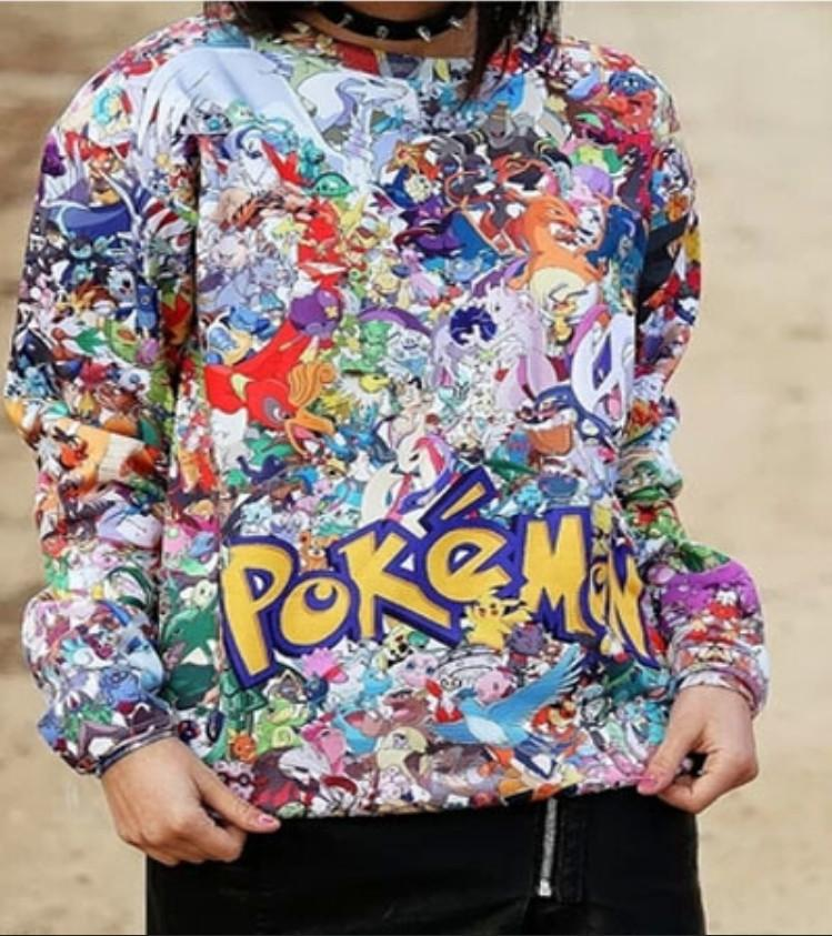 POKEMON - Rare Pokemon 3D Sweatshirt