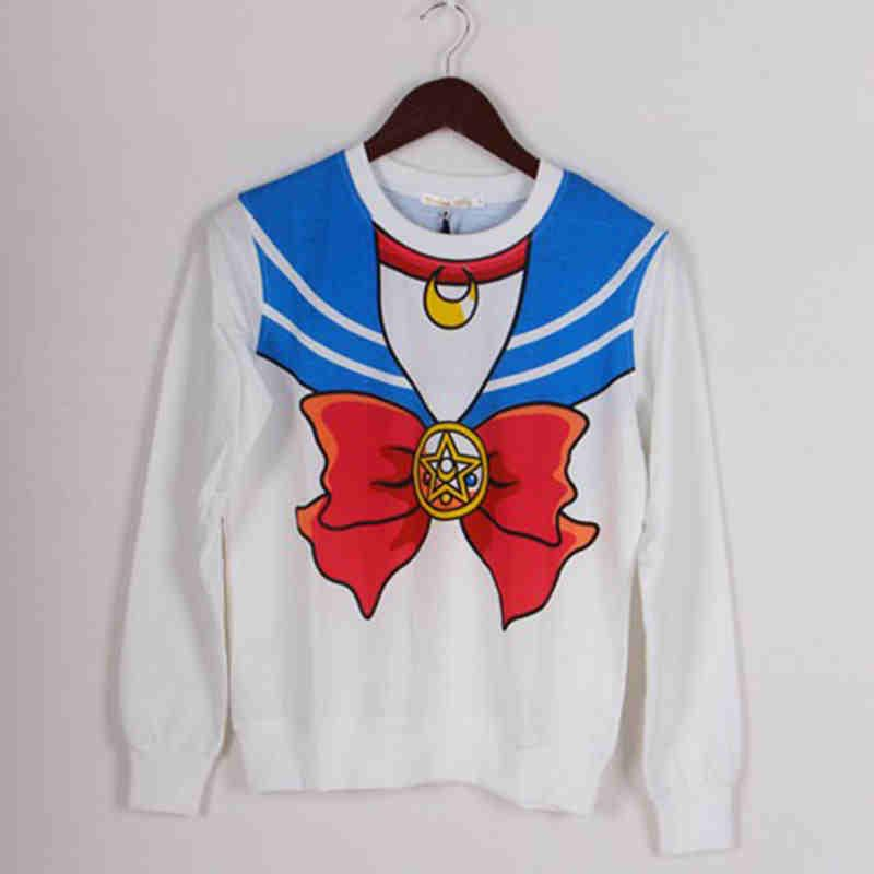 Sailor Moon - Sailor Moon Cosplay Long Sleeve Shirt