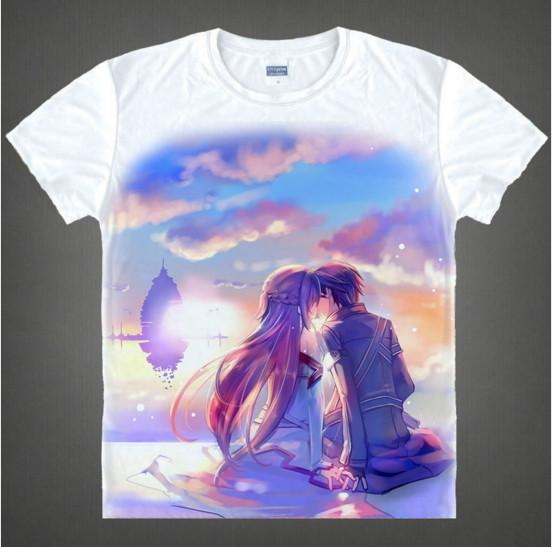 Sword Art Online - Exclusive Sword Art Online 3D T Shirt V8