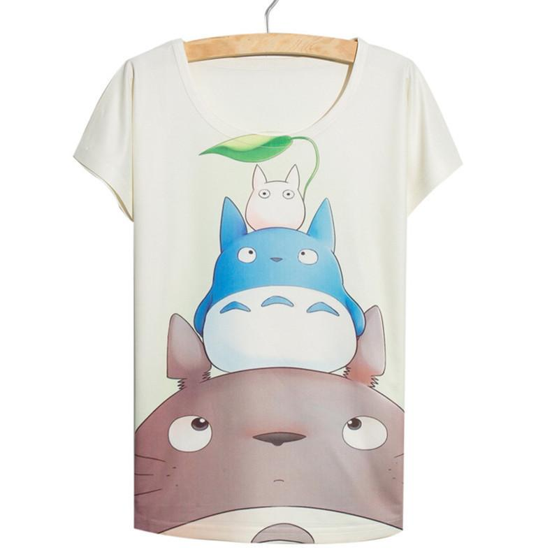 Totoro - Cute Totoro Loose T-shirt