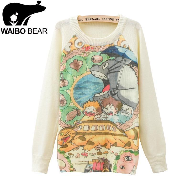 Totoro - Totoro And Studio Ghibli Sweater