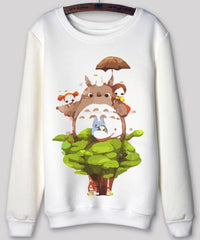 Totoro - Totoro Long Sleeve Sweatshirts Collection V3
