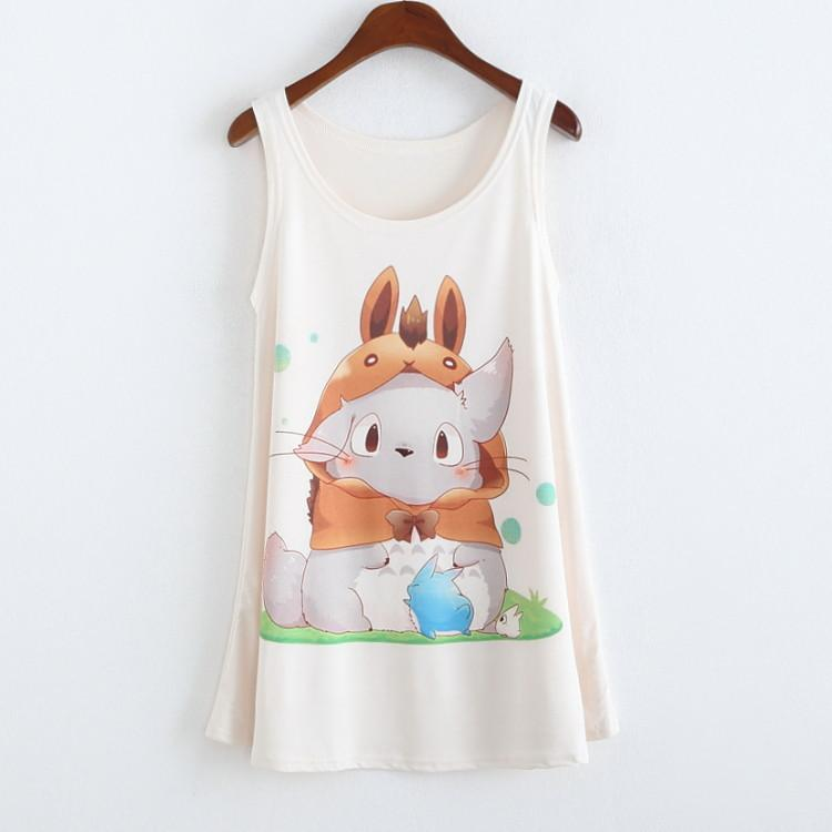 Totoro - Totoro Sleevless Shirt