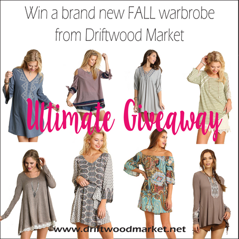 Win a new wardrobe!