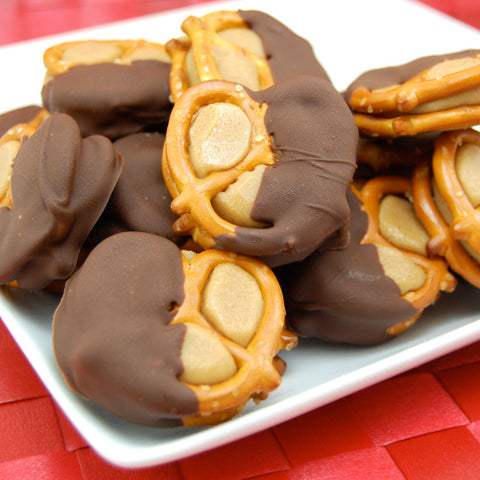 Peanut Butter Buckeye Football Snacks