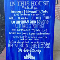 Disney Quotes for Sign Board