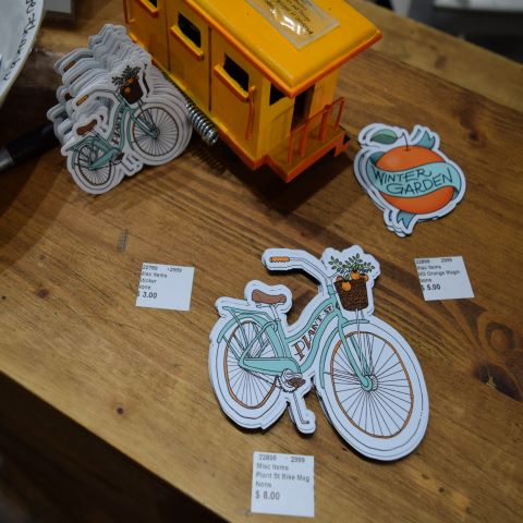 Winter Garden Magnets and Stickers