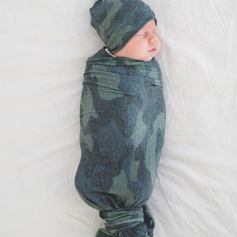 Swaddle - Hunter design by Copper Pearl