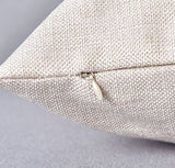 Natural Linen Pillow - Nolensville, TN - Your City and State - Plush