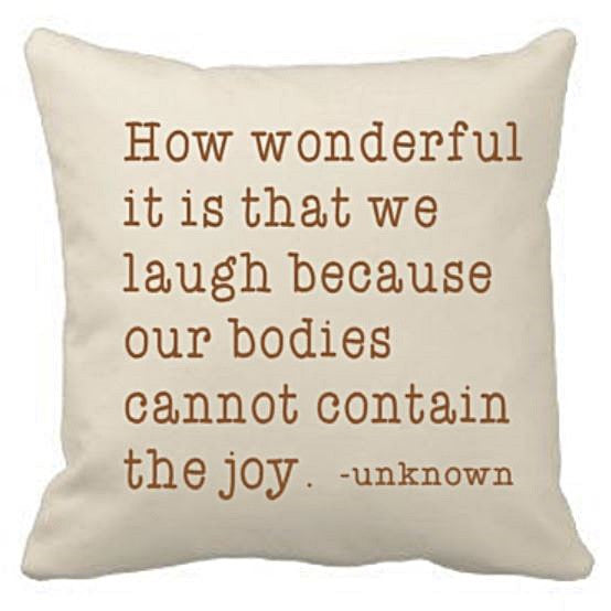 18 inch Canvas Pillow Cover/Case with Custom Quote - Plush