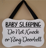 No Need to Knock - We know You're here - The Dogs Hanging Sign - Plush